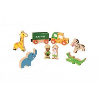 Postavičky a zvířátka - Safari