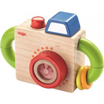 Pro holky - Dřevěný fotoaparát se zvuky