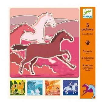 Šablony Koně