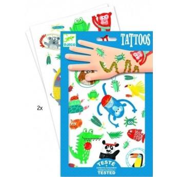 Pro holky - Tetování V jungli