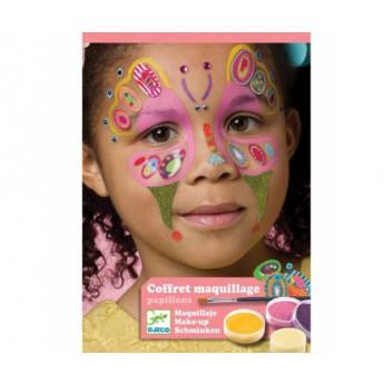 Pro holky - Malování na obličej Motýli