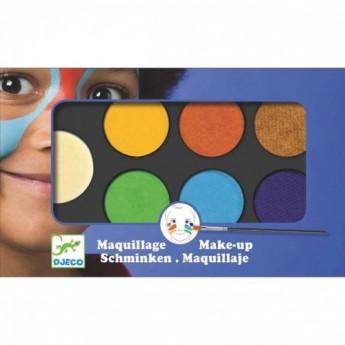Pro holky - Barvy k malování na obličej - přírodní odstíny