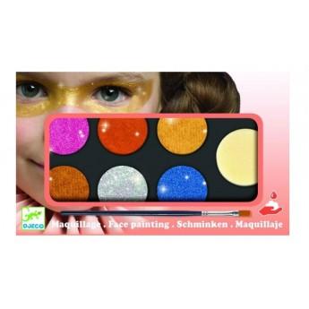 Pro holky - Barvy k malování na obličej - metalické odstíny