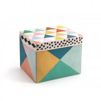 Dětský pokojíček - Box na hračky sedací