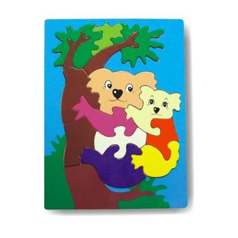 Puzzle - Vkládačka - Koala