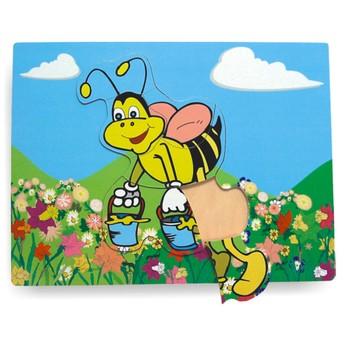 Puzzle - Vkládačka - Včela