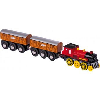 Pro kluky - Příslušenství k vlačkodráze - Elektrická lokomotiva