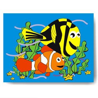 Puzzle - Vkládačka - Hledá se Nemo