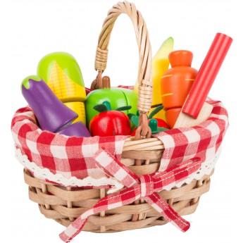 Pro holky - Nákupní košík s zeleninou