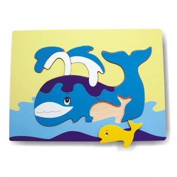 Puzzle - Vkládačka - Velryba