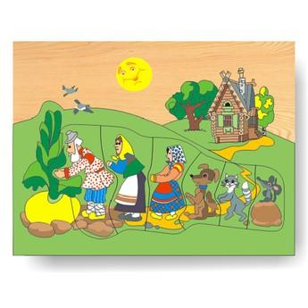 Puzzle - Vkládačka - Pohádka o řepě