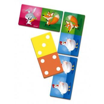 Hry a hlavolamy - Domino Rigolooo zvířátka