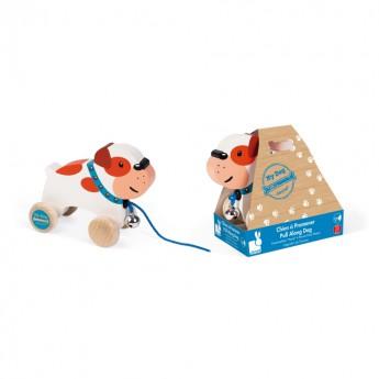 Pro nejmenší - Tahací hračka Buldog