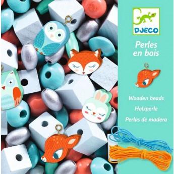 Motorické a didaktické hračky - Tvoření šperků Malá zvířátka