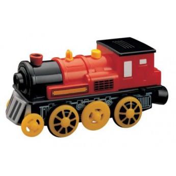 Pro kluky - Příslušenství k vlačkodráze - Elektrická lokomotiva červená
