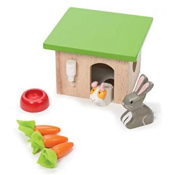 Dřevěné farmy a příslušenství - Příslušenství k farmě - Set Bunny a Guniea