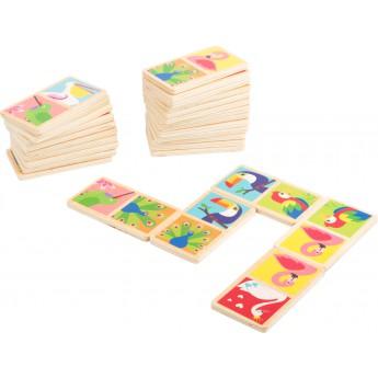 Hry a hlavolamy - Domino v plechovce - Zvířata