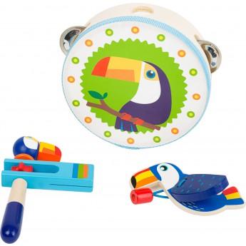 Dětské hudební nástroje - Hudební set Tukan