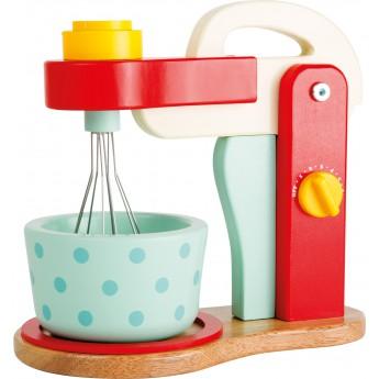 Pro holky - Dřevěný mixér červený