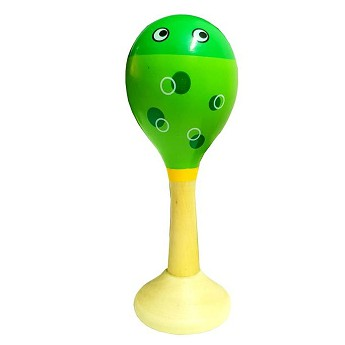 Dětské hudební nástroje - Rumbakoule - Žabka
