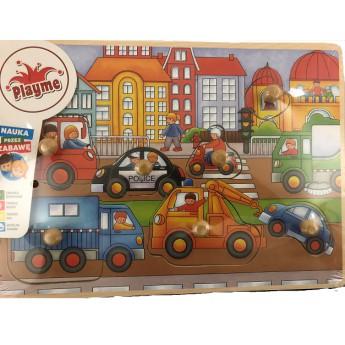 Puzzle - Vkládací puzzle - Dopravní prostředky