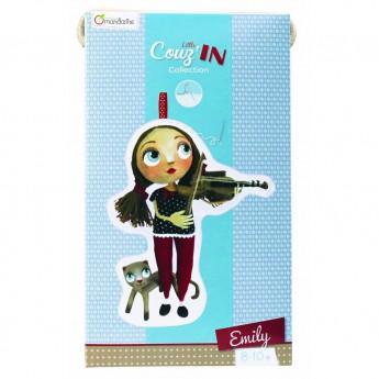 Výtvarné a kreativní hračky - Dětské šití panenka Emily