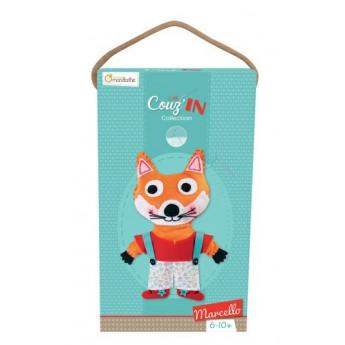 Výtvarné a kreativní hračky - Dětské šití Liška Marcello
