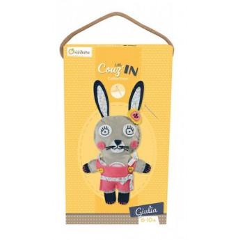 Výtvarné a kreativní hračky - Dětské šití Zajíček Giulia