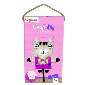 Dětské šití Kočička Tina