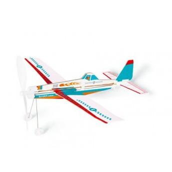 Pro kluky - Vrtulové hasičské letadlo na gumu