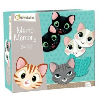 Dětská hra Memo Kočky