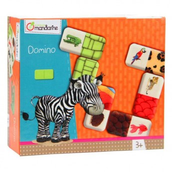 Hry a hlavolamy - Dětská hra Domino Zvířátka