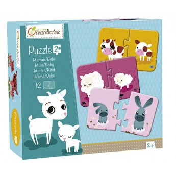 Puzzle - Duo puzzle Maminka a mládě