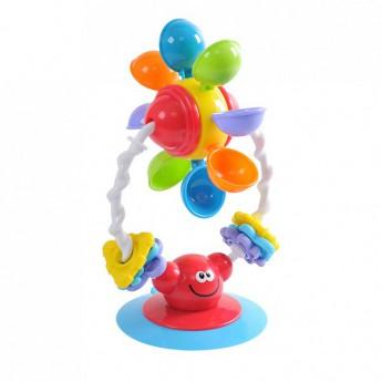 Hračky do vody - Vodní mlýnek s přísavkou do vany