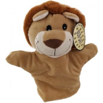 Maňásek na ruku Lev hnědý