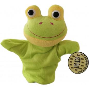 Maňásek na ruku Žabka