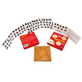 Dřevěné puzzle - série HEY!