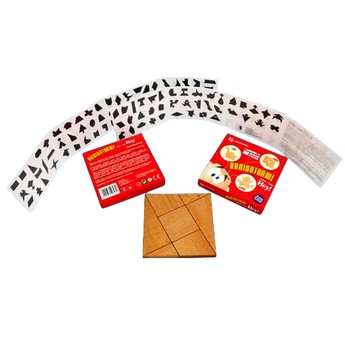 Hry a hlavolamy - Dřevěné puzzle - série HEY!