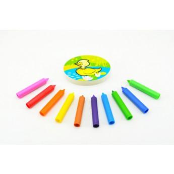 Hračky do vody - Pastelky do vany Moje první zvířátka 10 ks