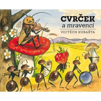 Pro nejmenší - Knížka Cvrček a mravenci