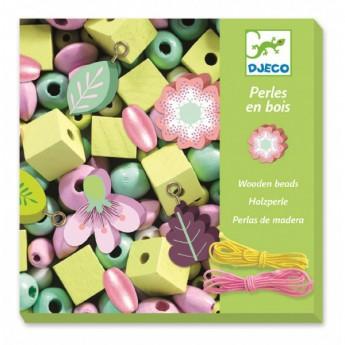 Motorické a didaktické hračky - Tvoření šperků pastelové květiny