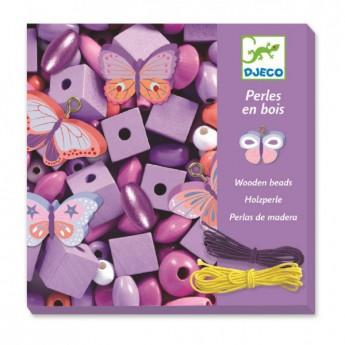 Motorické a didaktické hračky - Tvoření šperků Malý motýlci