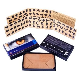 Hry a hlavolamy - Dřevěné puzzle - série F