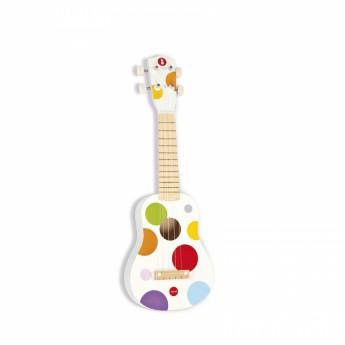 Dřevěné ukulele Confetti