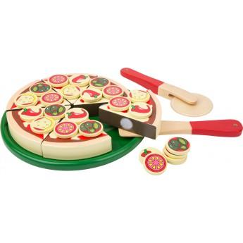 Pro holky - Dřevěná sada pizza