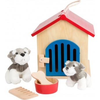Dřevěné farmy a příslušenství - Dřevěná Boudička pro psa