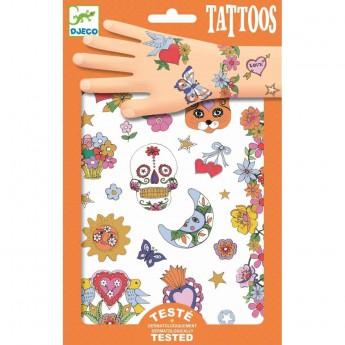 Pro holky - Tetování Mexický svátek
