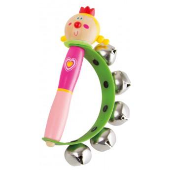 Dětské hudební nástroje - Rolničky do ruky - Princezna zlatovláska