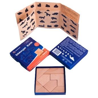 Hry a hlavolamy - Dřevěné puzzle - série Euklid