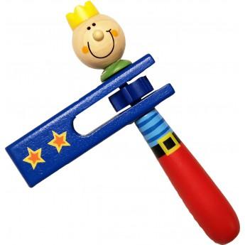 Dětské hudební nástroje - Dětská řehtačka Princ